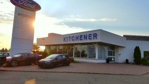 Front of Kitchener Ford