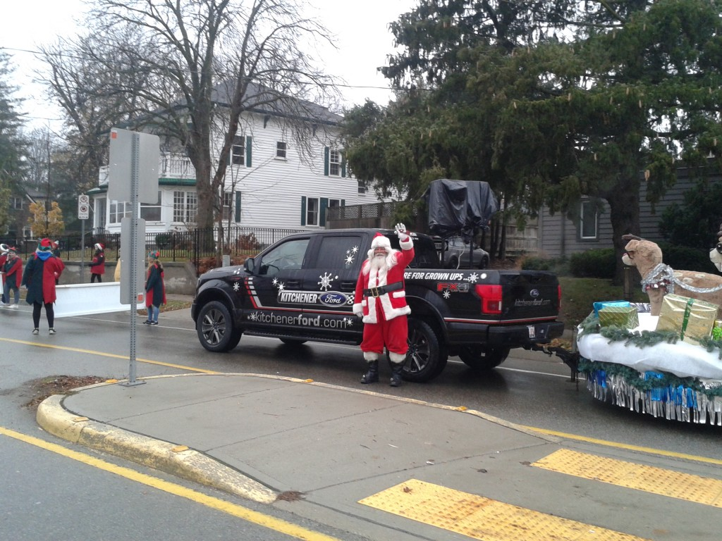 Santa Clause Parade 2017
