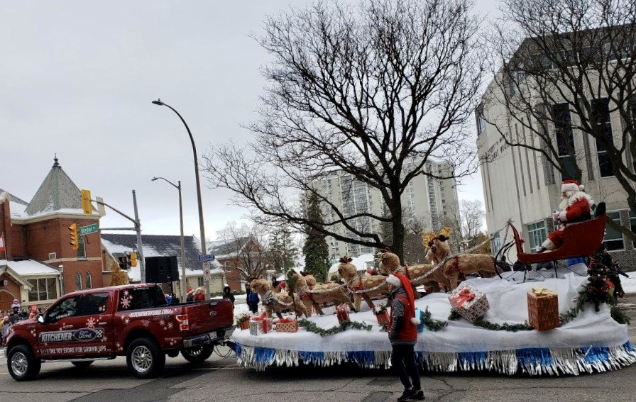 1 Kitchener Santa Clause Parade 2018