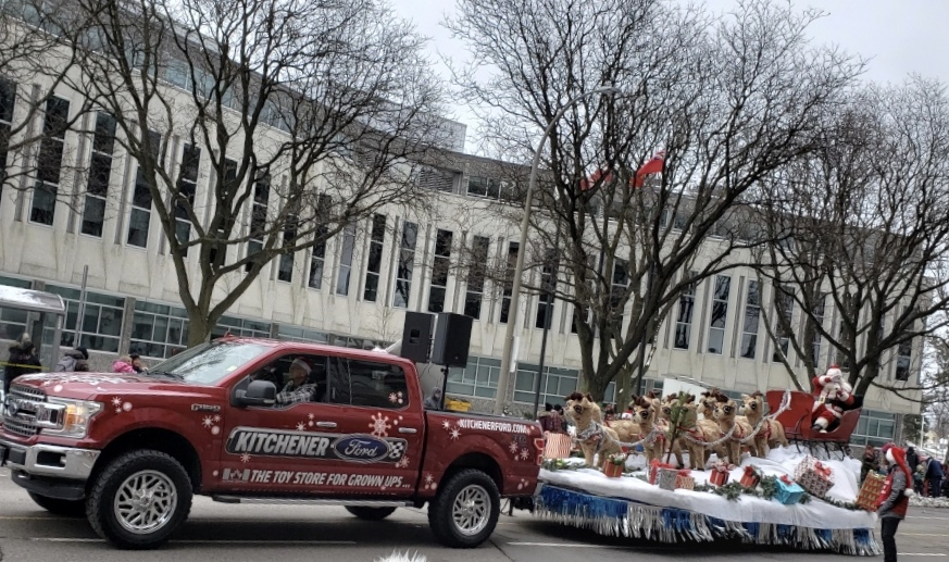 2 Kitchener Santa Clause Parade 2018 2